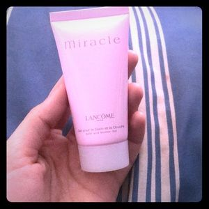 Lancôme Miracle  bath and shower gel
